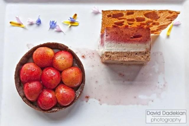 Gracie's Chocolate Cherry Tart 1