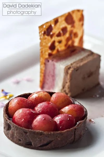 Gracie's Chocolate Cherry Tart 3