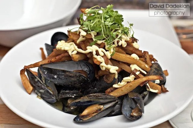 Trafford's Mussels Frites