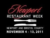 Newport Restaurant Week, November 4 - 13, 2011