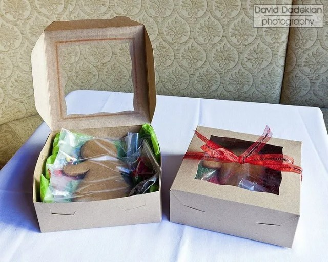 The completed Gingerbread Men or Women Decorating Kits, available at Miriam Hospital