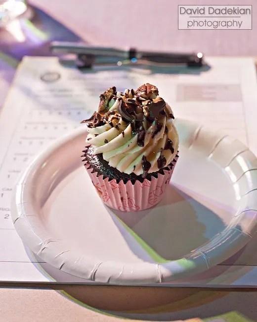 City Girl Cupcake's Caramel Chocolate Walnut cupcake