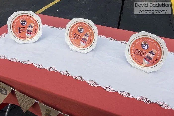 The award plates created by Ahlers Designs, Inc.