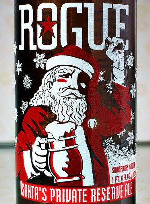 Rogue Santa Beer Christmas with rogue santa