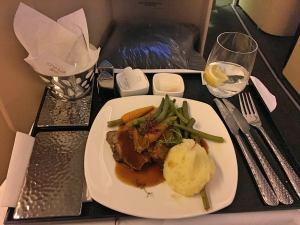 Etihad Business Class EY22 MAN AUH 777-300ER_20_beef cheeks