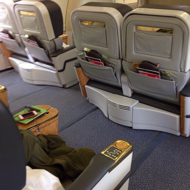 Emirates Premium Economy could replace First Class seats like these