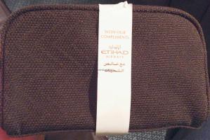 Etihad A380 First Class Apartment: Amenity Kit