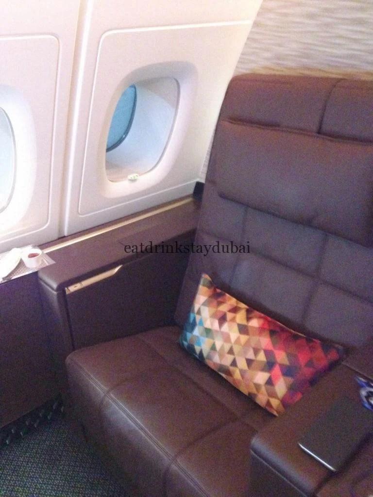 Etihad A380 First Class Apartment: Armchair