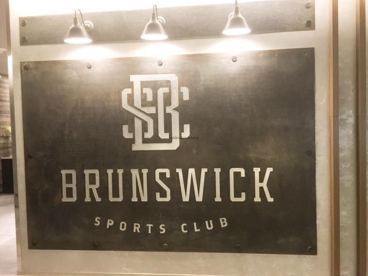 Brunswick Sports Club Sign