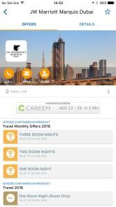 Hotel Review JW Marriott Marquis Dubai: Entertainer offers