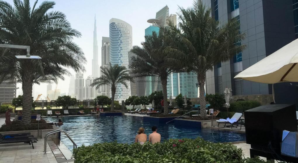 Hotel Review JW Marriott Marquis Dubai: Pool 5