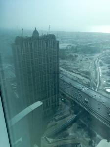 Hotel Review JW Marriott Marquis Dubai Bedroom View: Westin Al Habtoor City