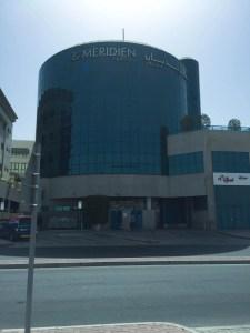 Hotel Review Le Meridien Fairway: exterior rear