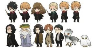 harry potter anime 2