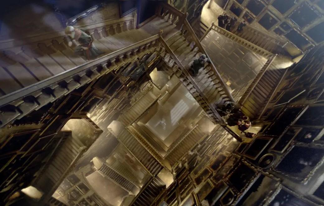 Dietro le quinte la scalinata di hogwarts for Mobili harry potter