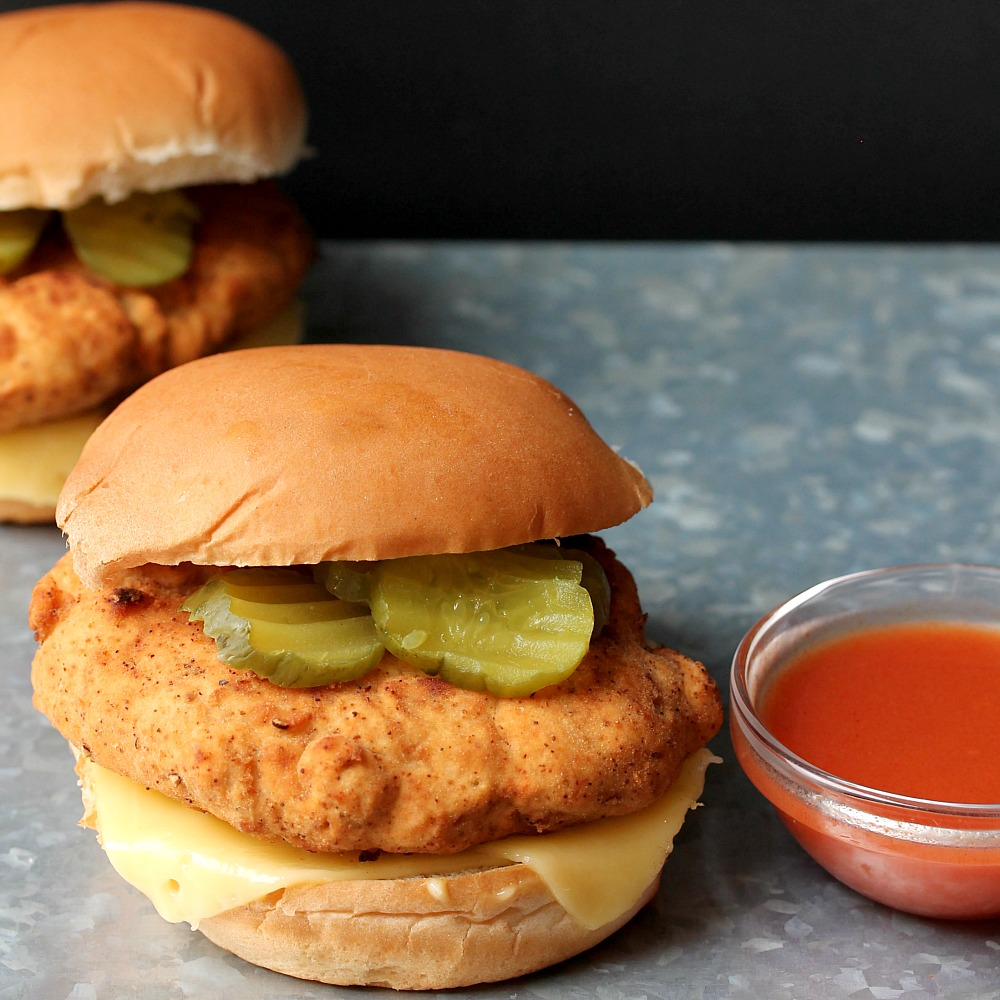 Vegan Chick-Fil-A Deluxe Sandwich