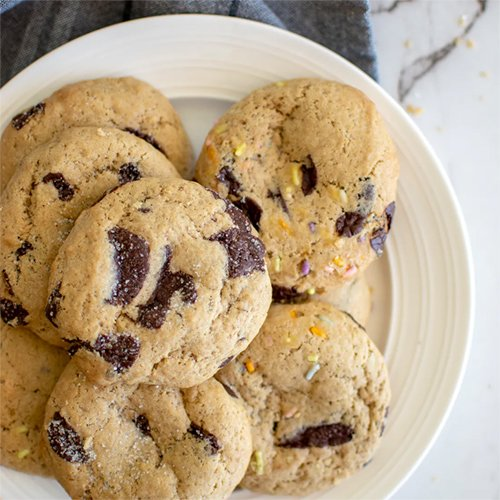 A Gift of Organic Vegan Chocolate Chip Cookies