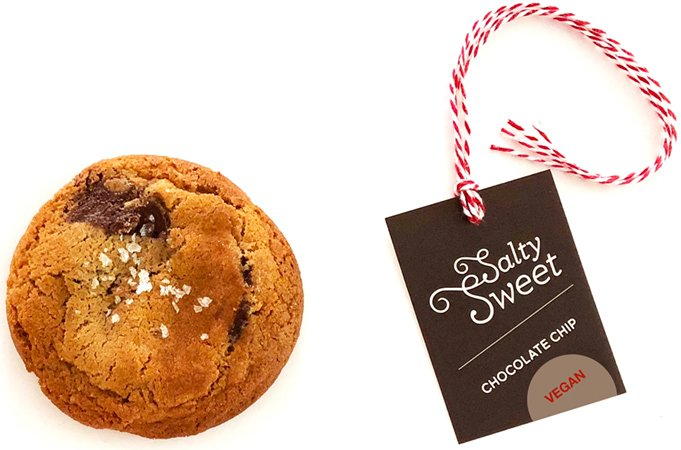 Order Vegan Chocolate Chip Cookies at Eat Salty Sweet Bakery