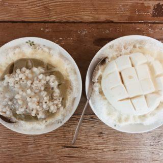 台南豆腐冰|懷舊小棧 – 五妃廟口豆腐冰。台南獨家美味豆腐冰