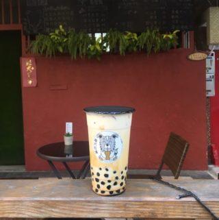 南方牧場。想喝個QQ波霸奶茶了嗎?