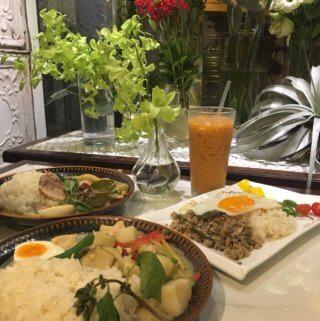 珍妮花與南洋杉。成大商圈中最美IG打卡之泰式料理餐廳