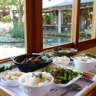 田寮農莊。台中市區待太久了嗎?嘗試大台中鄉下悠閒的美食餐廳