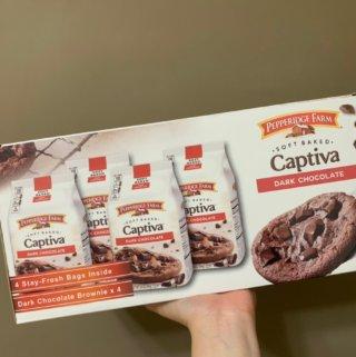 Costco好市多美食|琣伯莉-巧克力布朗尼軟餅乾,螞蟻人必買