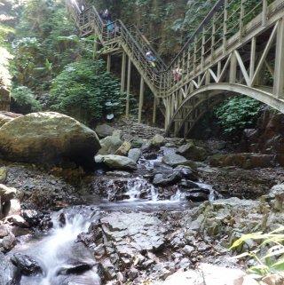 旅遊|宜蘭林美石磐步道,午後來個清幽溪谷秘境之旅