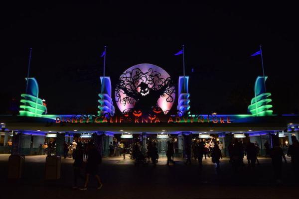 Halloween 2017 Disney California Oogie Boogie Entrance