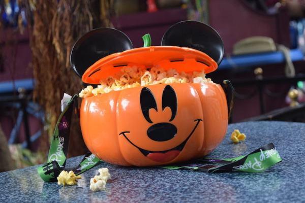 Mickey Pumpkin Popcorn Bucket