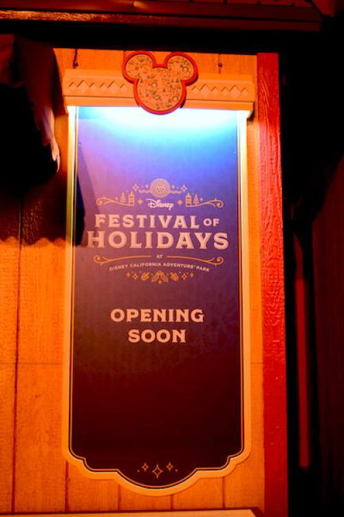 Disney Festival of Holidays Preview Opening Soon