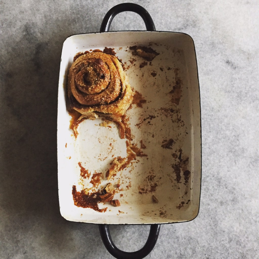 perfect simple cinnamon buns