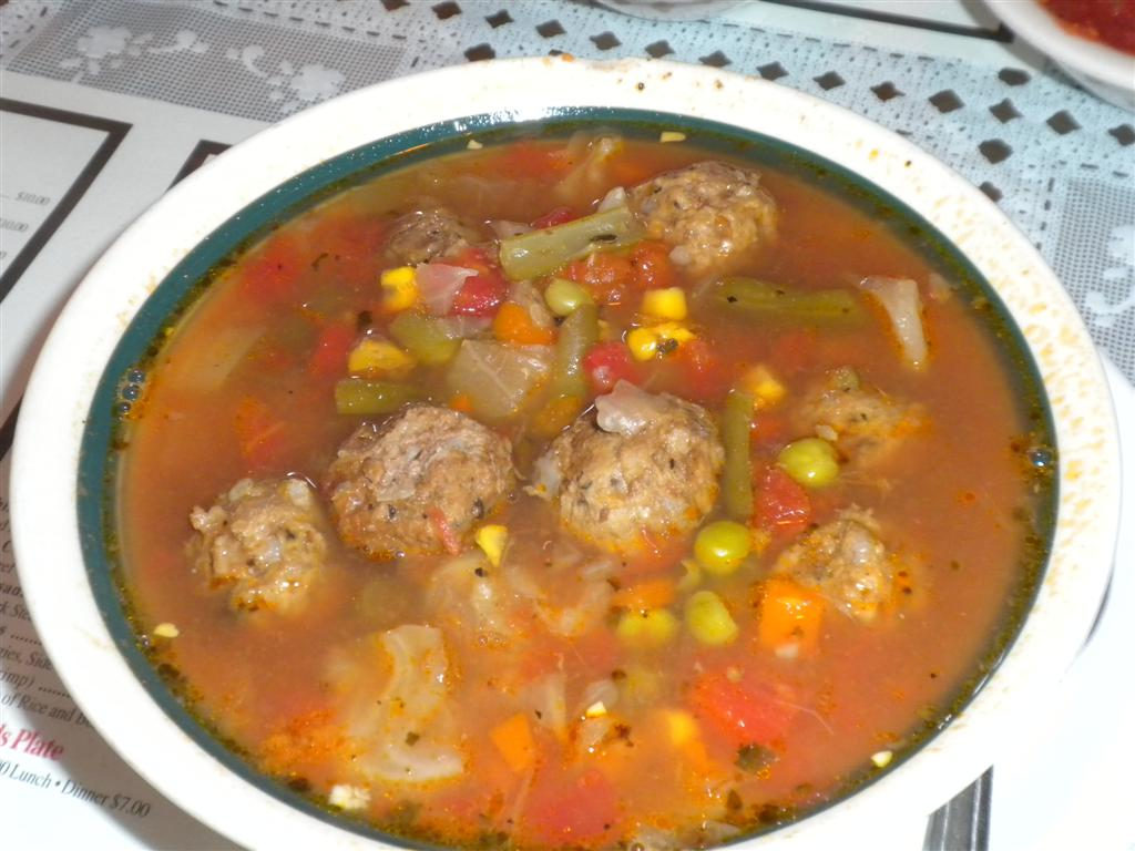 Eat This Now  AlbondigasFideo Soups at EL SOMBRERO