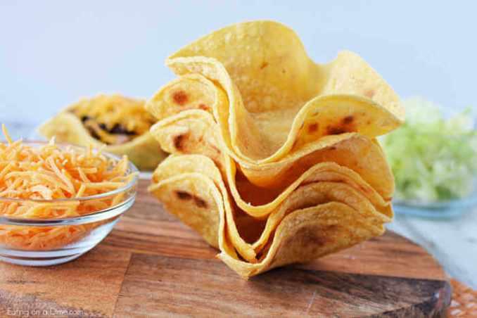 Homemade Taco Shells - Easy Homemade Taco Bowls
