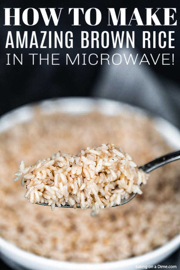 microwave brown rice how to make rice