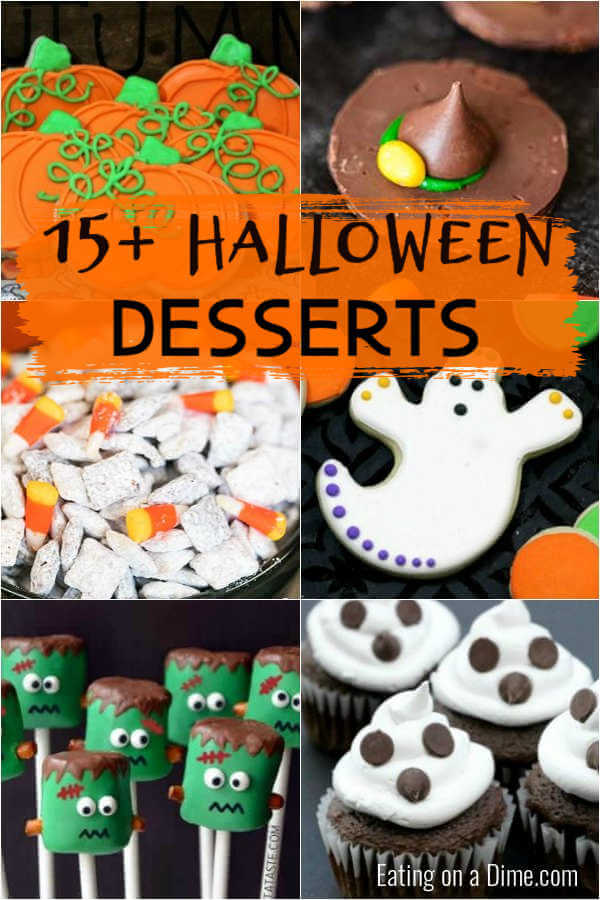 But instead of buying party decorations that are generic, impersonal — and maybe even boring — why not put your crafting skills to use and diy some d. Easy Halloween Desserts For Kids Easy Halloween Desserts