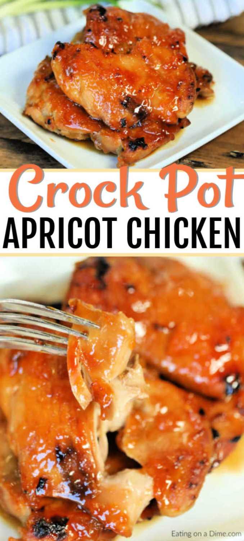 Crock Pot Apricot Chicken Recipe - The Best Apricot