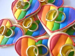 Gay Saigon marriage hearts