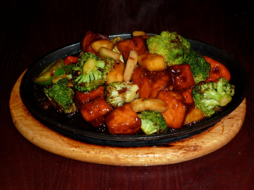 Sizzling Salmon special