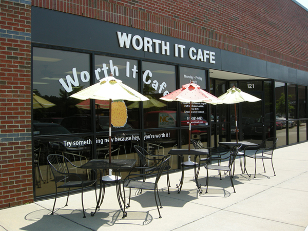 Worth It Cafe in Durham