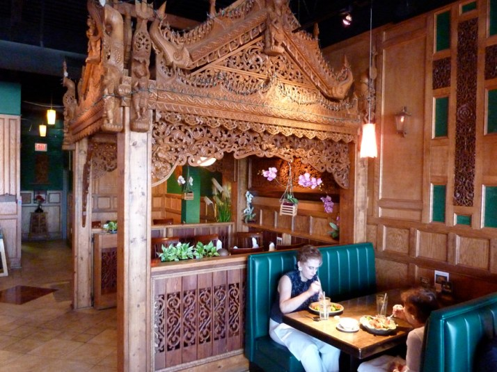 Interior of Thai House