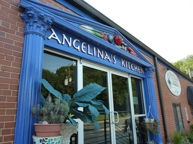 outside of Angelina's Kitchen
