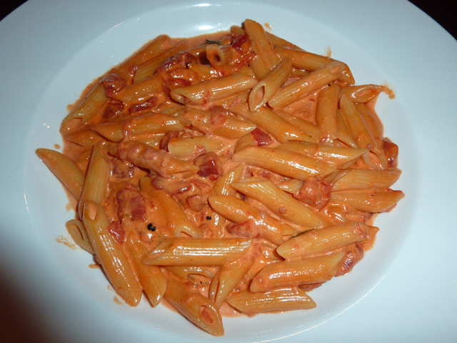penne ala vodka