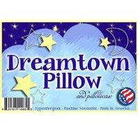 Dreamtown Kids Toddler Pillow With Pillowcase 14x19 White ...