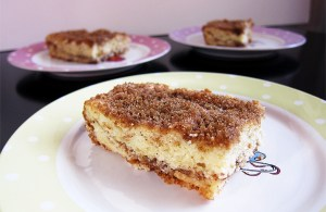 Sour Cream Cinnamon Coffee Cake