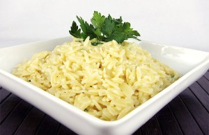Parmesan Orzo   www.EatLaughPurr.com