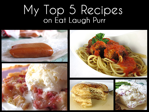 my 5 favorite recipes