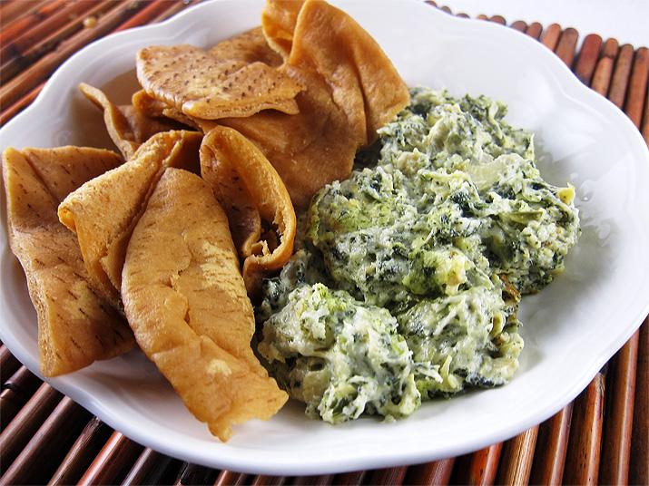 Spinach Artichoke Dip | www.EatLaughPurr.com
