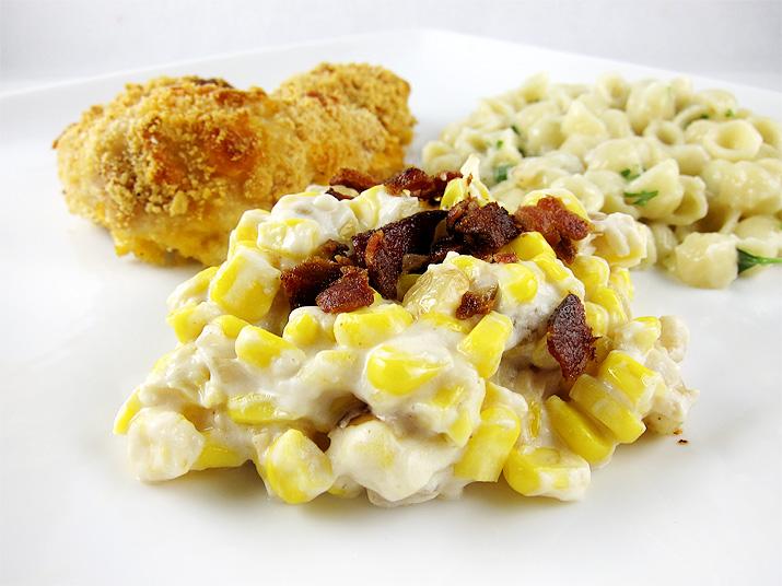 Corn and Bacon Casserole | www.EatLaughPurr.com