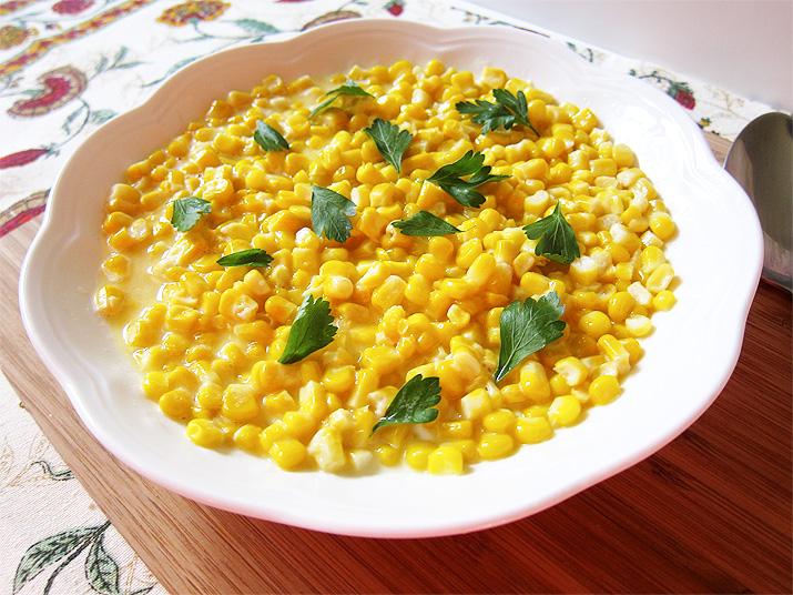 Creamy Corn | www.EatLaughPurr.com